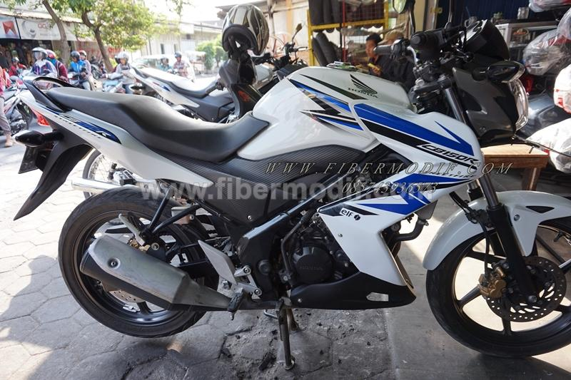 Half fairing CB150R MODEL NINJA Z street fire