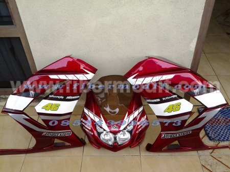 fairing ninja 250 fi full set