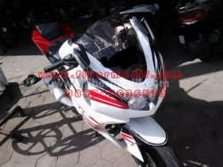FULL FAIRING MODEL NINJA 250 GP EDITION terpasang di cb 150r
