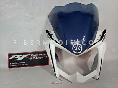 Cover Headlamp Touring Edition New Vixion Lightning Putih