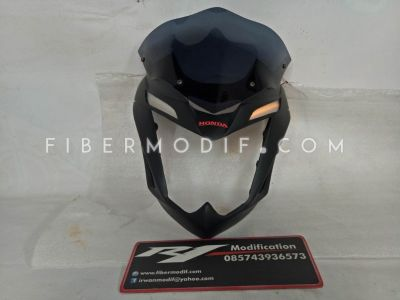 Cover Headlamp Alis LED Kuning CB150R (model sein)
