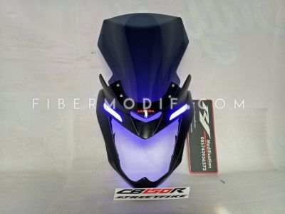 Cover Headlamp Old CB150R Alis LED Touring Edition (Visor Panjang)