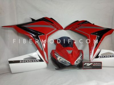 Fairing Model CBR150 Facelift - Red White