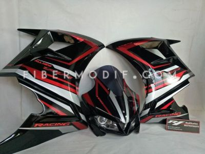 Fairing CBR250RR V1 Black Racing New RR