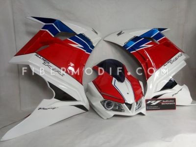 Fairing CBR250RR V1 Black Techno