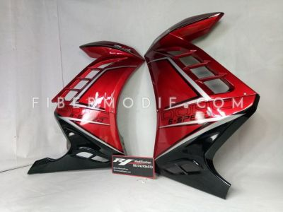 Half Fairing All New CB150R Glossy Red mix Black