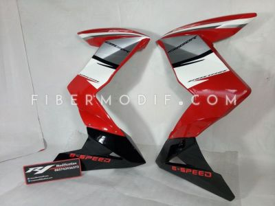 Half Fairing New CB150R model Z Red White Racing