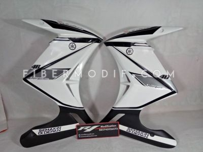 Half Fairing New Vixion Lightning Advance Model Z Elegant Black White