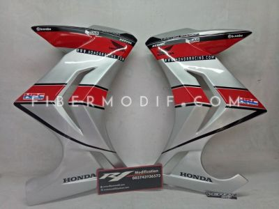 Half Fairing Verza Gray Honda Racing