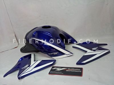 Kondom Tangki Verza model CB1000 Blue White