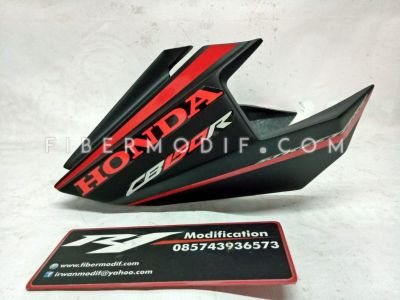 Undercowl CB150R Facelift Black Red Doff Streetfire