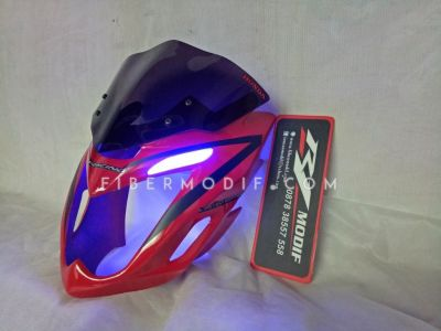 Cover Headlamp Old CB150R Red Gloss Alis LED Limited EDITION