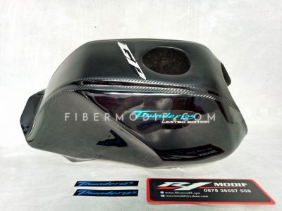 Cover Tangki Thunder Black Gloss GP Limited Edition