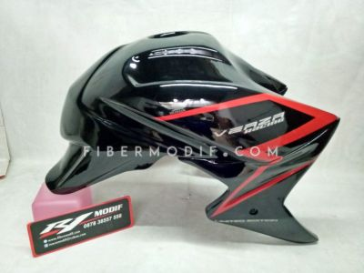 Cover Tangki Verza model CB1000 Black Gloss