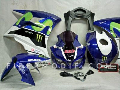 Fairing CBR250RR V1 Movistar Blue White