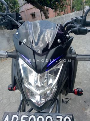 Crown V2 CB150R Facelift Black-Blue LED
