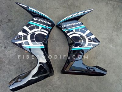 Half Fairing Vixion Advance-Lightning Black Sunmoon