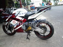 BODI CUSTOM NEW VIXION LIGHTNING MODEL R15 modifikasi