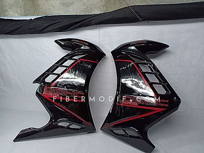 Fairing model Ninja 250 FI for CB150R Facelift Black Gloss DOHC