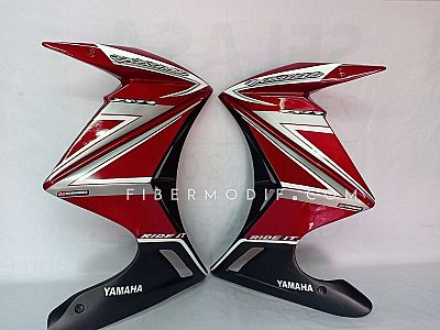 Fairing Vixion Advance Lightning Red Gloss Artistic Grey