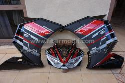 Full Fairing ala yamaha R25 v2 sporty look