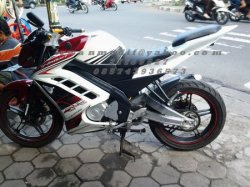 BODI CUSTOM NEW VIXION LIGHTNING MODEL R15 putih