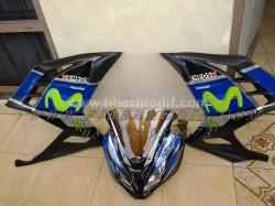 FULL FAIRING NINJA INJEKSI MOVISTAR