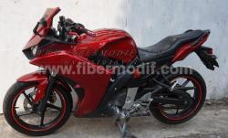FULL FAIRING MODEL R25 V1 TERPASANG DI BYSON