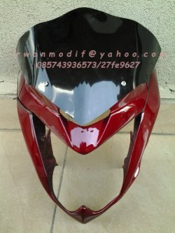 custom headlamp cb150r