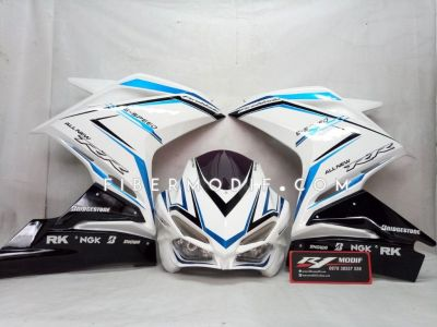 Fairing CBR250RR V2 Black Aquatic Art