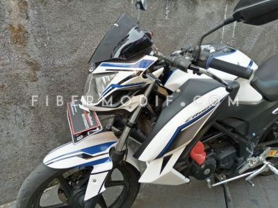 Kondom Tangki & Shroud & Cover Headlamp Old CB150R : Modif Minimalis
