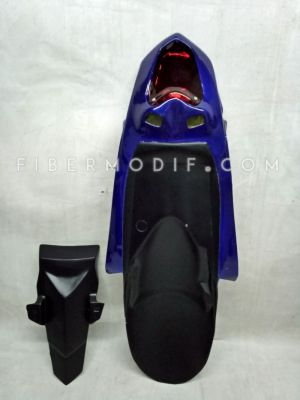 Undertail Byson Karburator Deep Blue