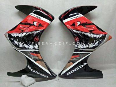 Half Fairing New Mega Pro Monoshock Black Shark Edition