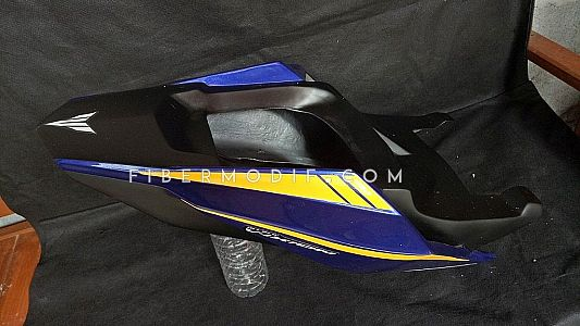 Body Custom Vixion 2019 Deep Blue Yellow Lis