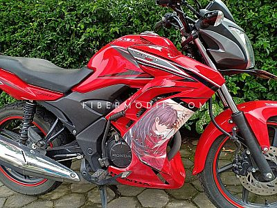 Fairing Verza 150 Red Anime