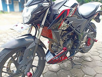 Undercowling CB150R Facelift Black Red DOHC