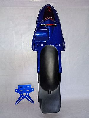 Undertail Old CB150R Deep Blue Gloss + Fender Eliminator