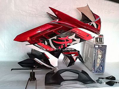 Fairing set Depan model R15 - Red Gloss Japanese Art