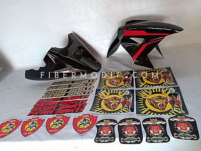 Sticker Club IKSPI KERA SAKTI +Undercowl + Spakbor model H2 Universal