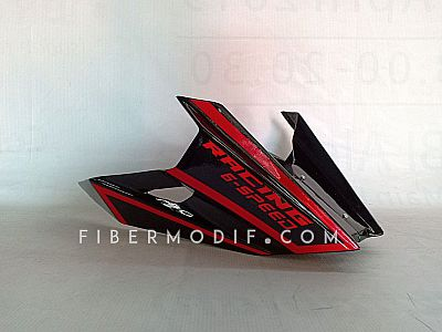 Undercowl CB150R New - Black Gloss Red Striped Racing 6 Speed