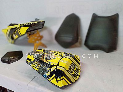 Body Belakang Set All New Vixion R - Bumblebee Transformer Style