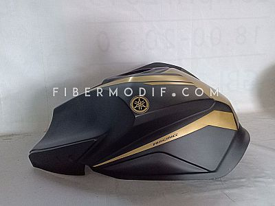 Vixion Advance Lightning - Black Gold Matte MT09 Logo