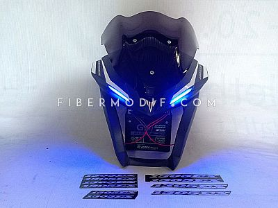 Cover Headlamp Vixion R - Blue Matte 1305EX Yamalube